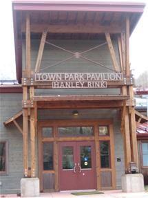 Town Park Pavilion ice skating