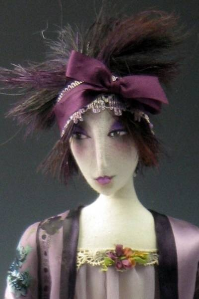 Art dolls by Cindee Moyer - amazing handcrafted dolls!