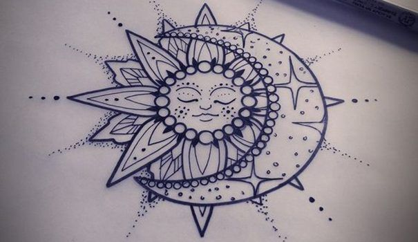 Sun Tattoo Designs & Meaning – Best tattoos 2017 designs and ideas ...