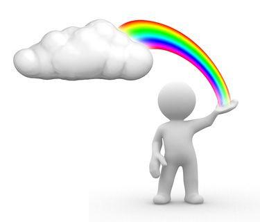 rainbow cloud | Flickr - Photo Sharing!