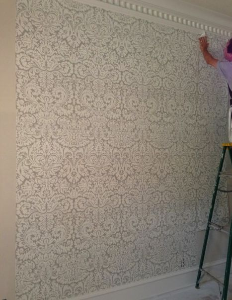 Love It or Leave It: The Return of Damask | Farrow & Ball's iconic Silvergate wallpaper