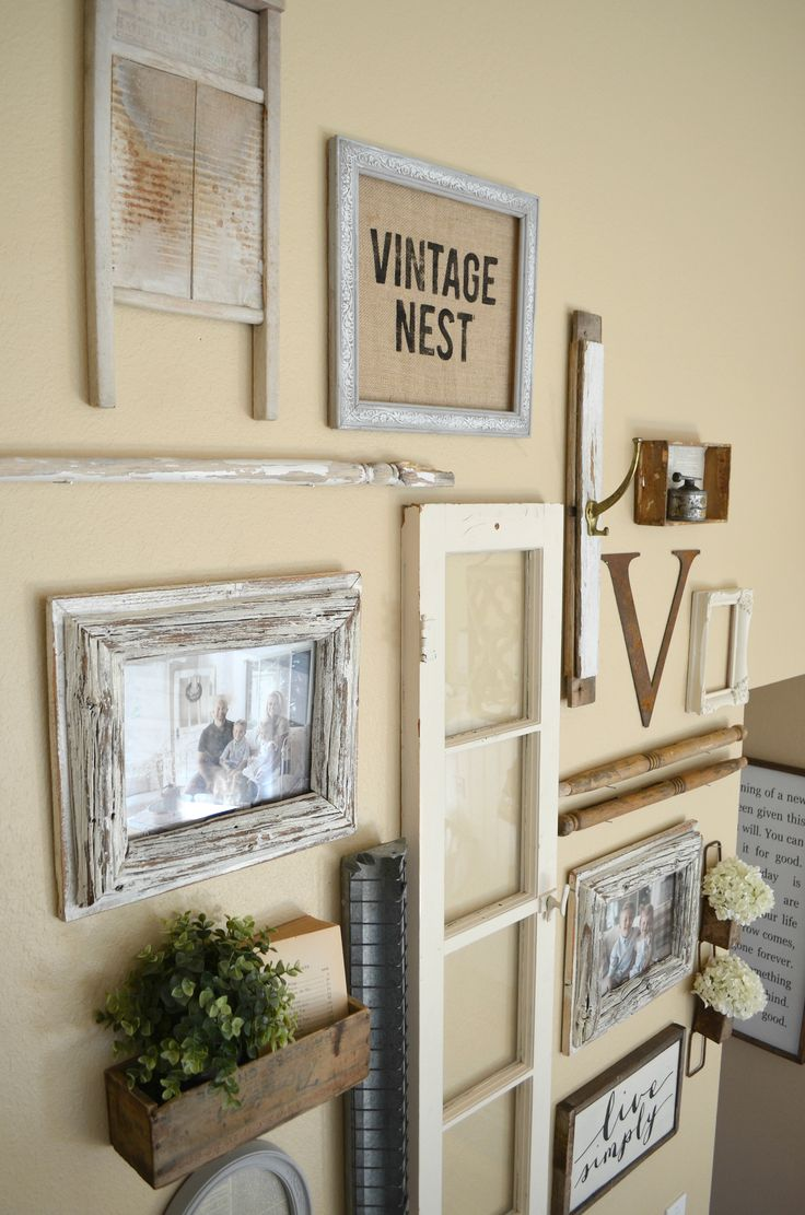 1000 ideas about Rustic Gallery Wall on Pinterest