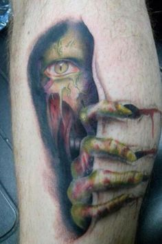 199 best images about zombie tattoos on pinterest zombie tattoos scary tattoos and face tattoos. Black Bedroom Furniture Sets. Home Design Ideas