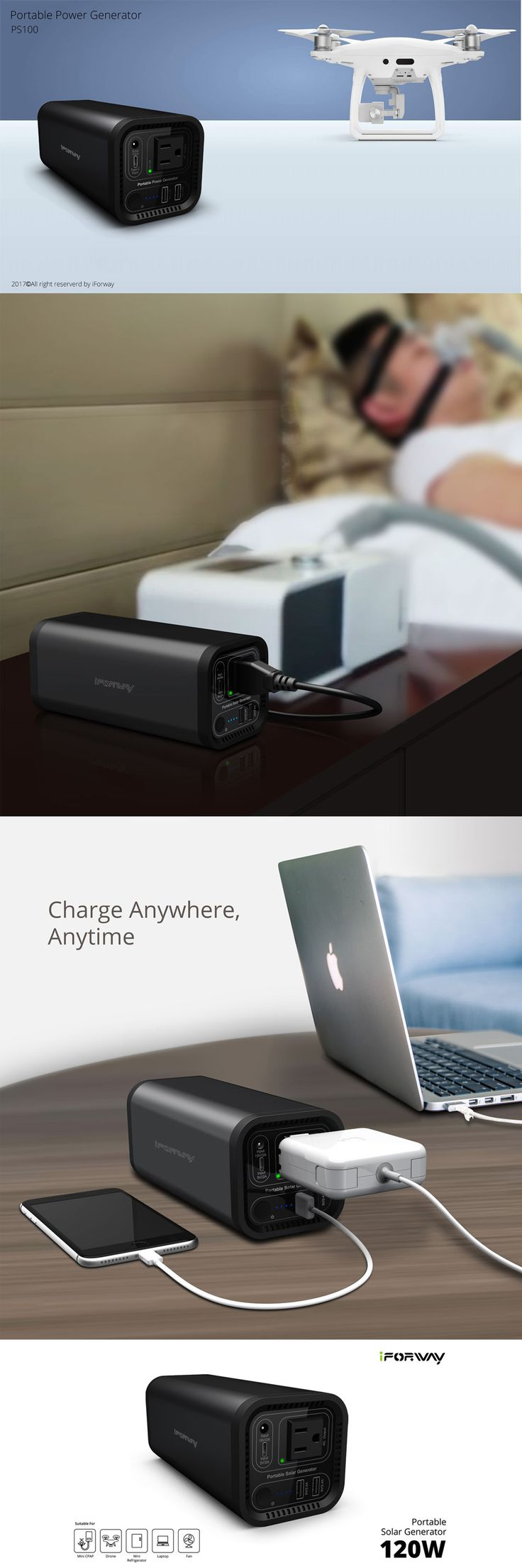 Huge capacity 41,600mAh makes solar power bank fully support all powering demands like Notebook , computer, fans,mini refrigerator,handheld devices,mobile phones and  so on. #powerbank #powergenerator #powersupply #portablepowerbank #solargenerator #solarpowerbank #camping #emergency #CAPA #powerpack #externalbattery #emergencybattery
