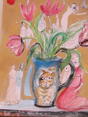 Tulip Dance by Lydia Corbett