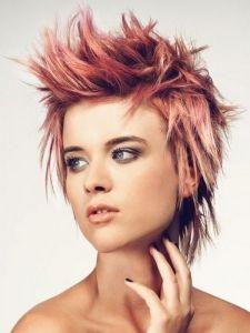 Chic Messy Layered Punk Haircut