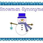 This is a cute literacy center for working on synonyms.  Snowman Synonyms contains 15 pairs of synonym cards and a recording sheet.  Several idea...