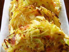 ジャガイモとキャベツのチーズ焼きの画像