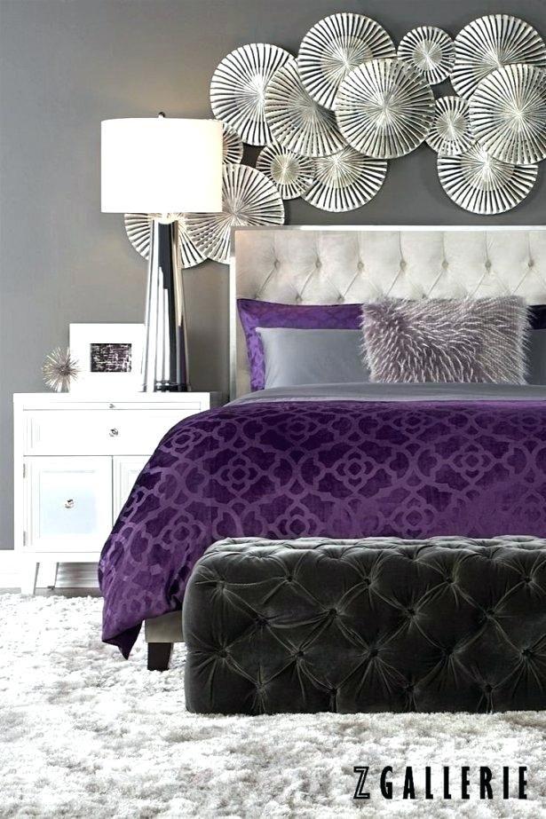 Lavendel und graues Schlafzimmer Innenarchitektur 2018 Pinterest