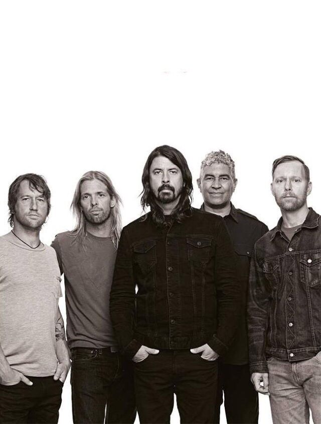 Foo Fighters by Ross Halfin