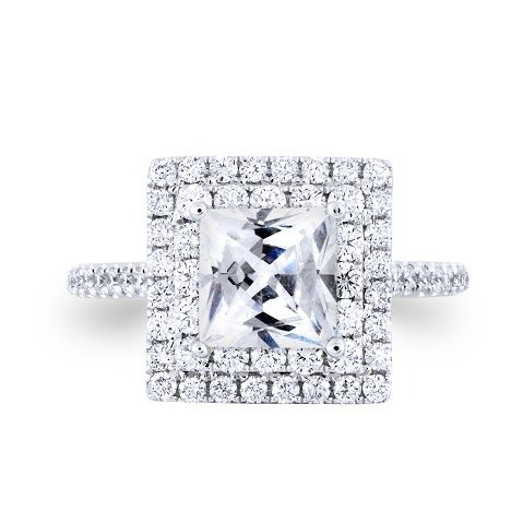 KATYA Diamond Engagement Ring Priced from $2500.00 http://diamondgalleria.com.au