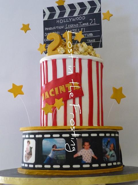 Hollywood Themed Birthday Cake Party Ideas Pinterest