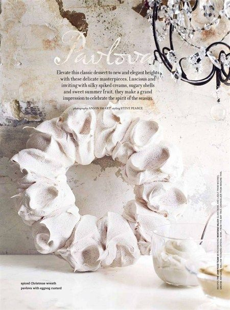 I love making Pavlova, need to try this elegant shape