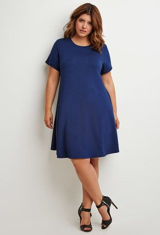 A-Line T-Shirt Dress | Forever 21 PLUS | #forever21plus