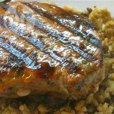 Steaks de thon marinés @ qc.allrecipes.ca