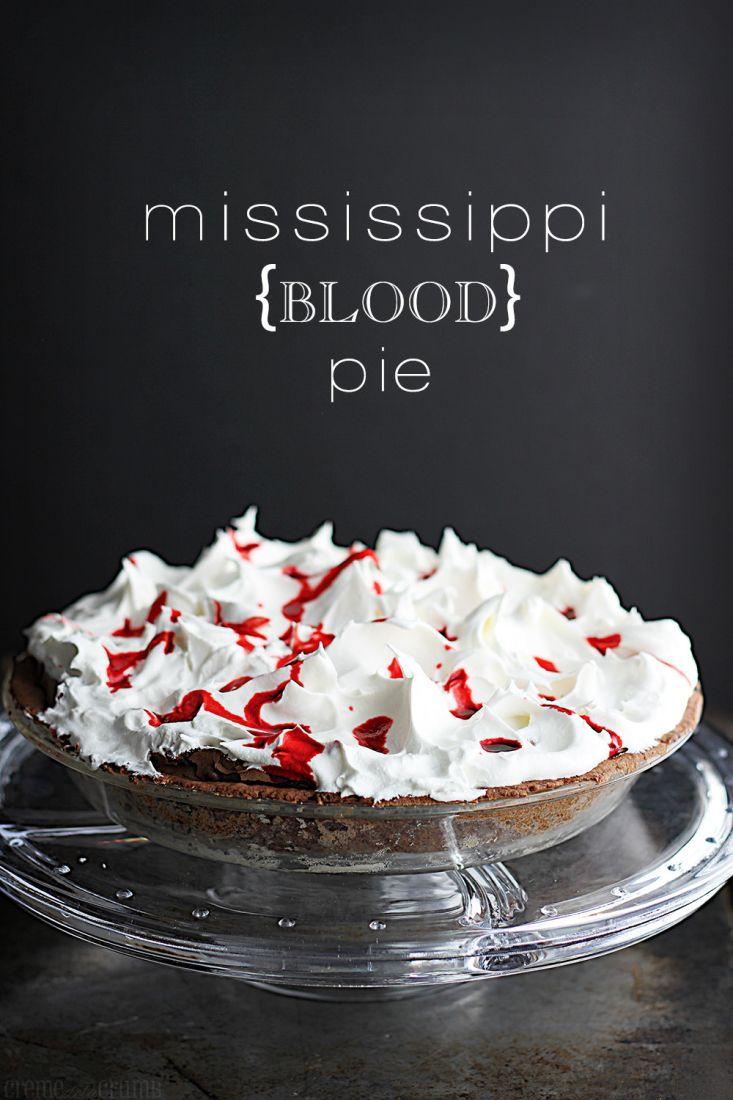 Mississippi+{Blood}+Pie+http://lecremedelacrumb.com/2013/10/mississippi-blood-pie.html
