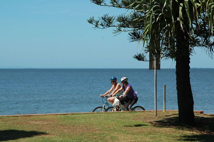 Clontarf to Redcliffe cycle