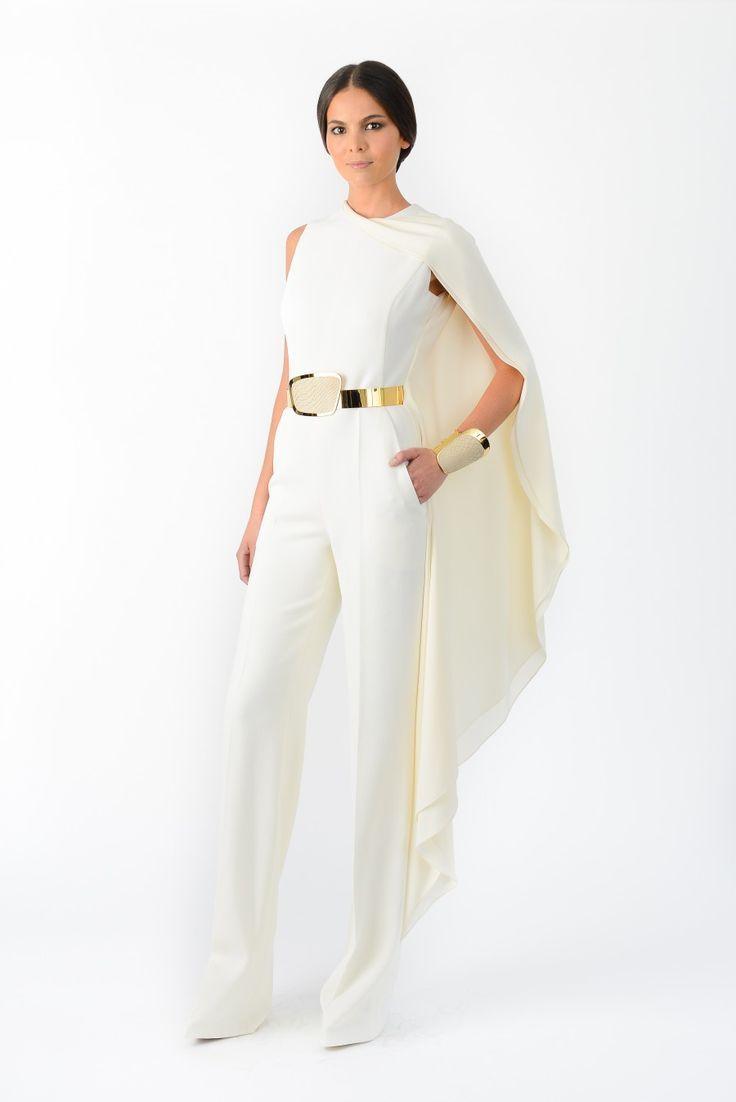 Strapless Jumpsuit White Jumpsuit