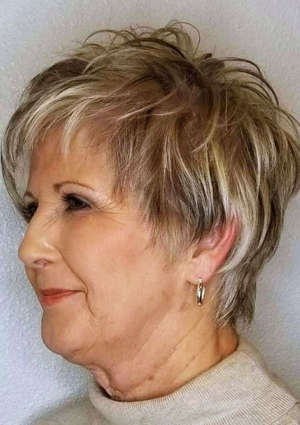 40 Best Hairstyles For Older Women Over 60 In 2020 Short Hair