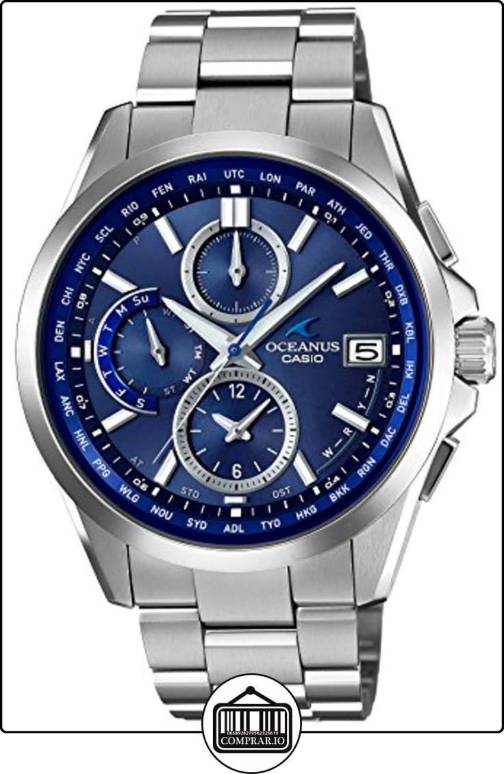 CASIO OCEANUS Classic Line Smart Access TOUGH MVT. : OCW-T2600-2A2JF  ✿ Relojes para hombre - (Lujo) ✿