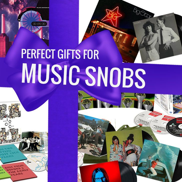 Perfect Christmas Gifts For Music Snobs