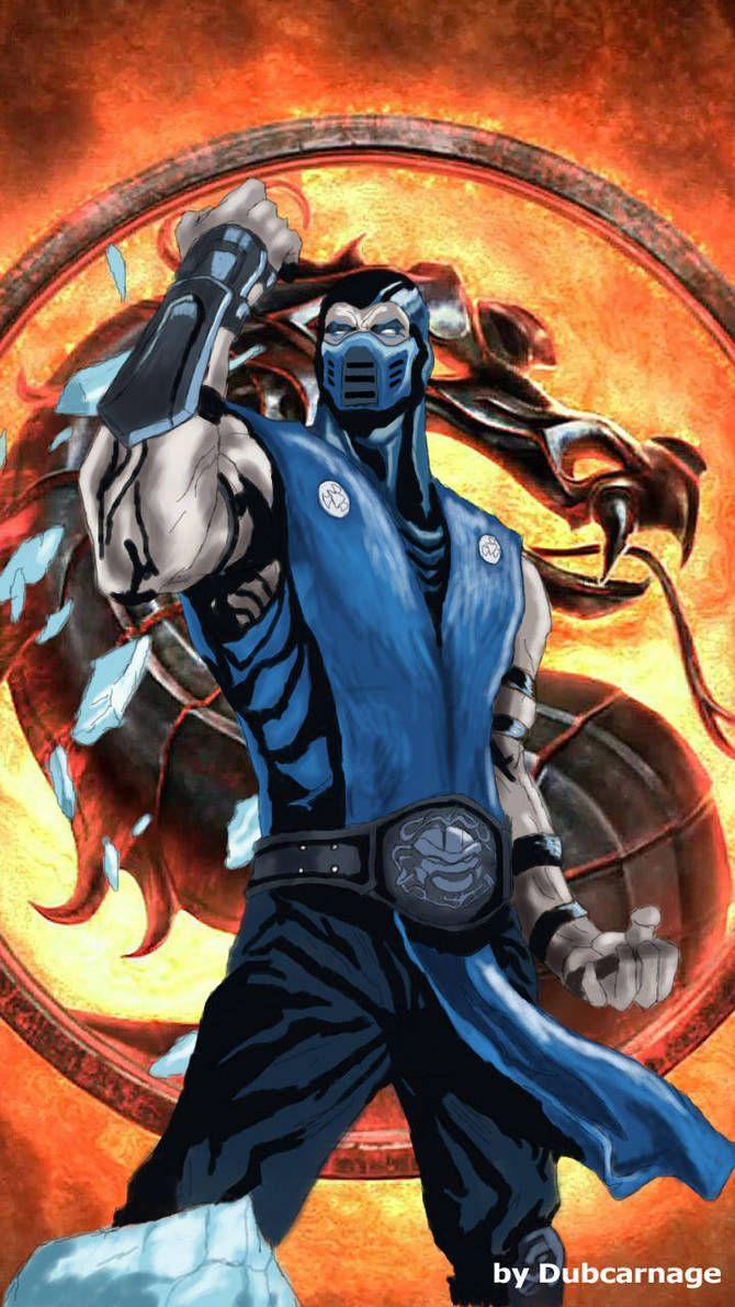 SubZero by Dubcarnage Mortal kombat art, Mortal kombat