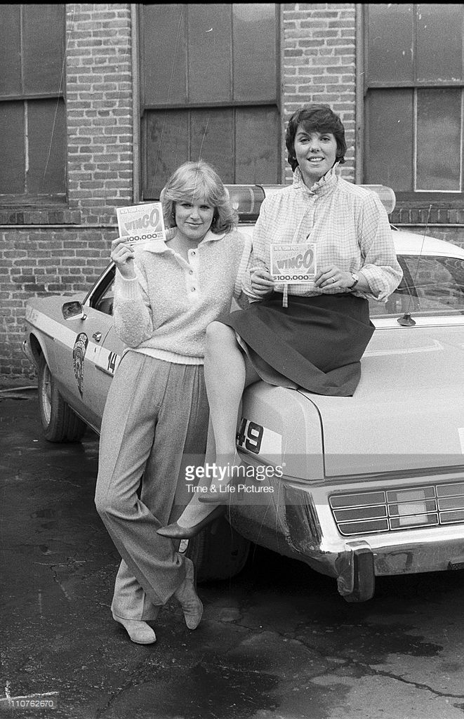 Sharon Gless and Tyne Daly
