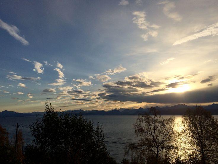 Закат солнца 😊