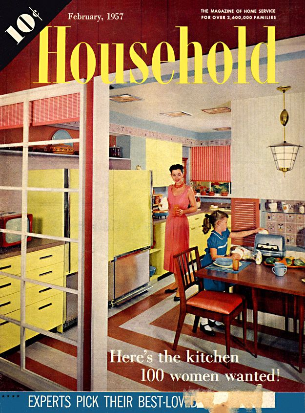 Kitchen Magazines 148 best vintage kitchen images on pinterest | retro kitchens