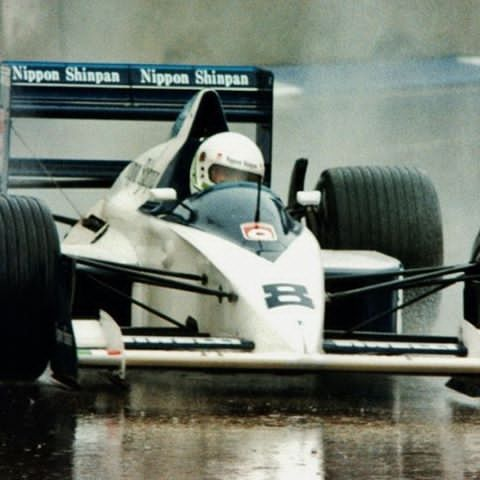 After making his debut with Brabham, Stefano Modena was invited to return with the team (they did not compete in 1988). He didn't let Brabham down qualifying  in the top 10 eight times. However the car broke down on a frequent basis and he only got one points finish. He got a podium finish at Monaco which was a huge achievement. #F1 #ClassicF1 #F1History #F189 #F11989 #80sF1 #brabhamf1 #brabham #brabhamjudd #stefanomodena #modena