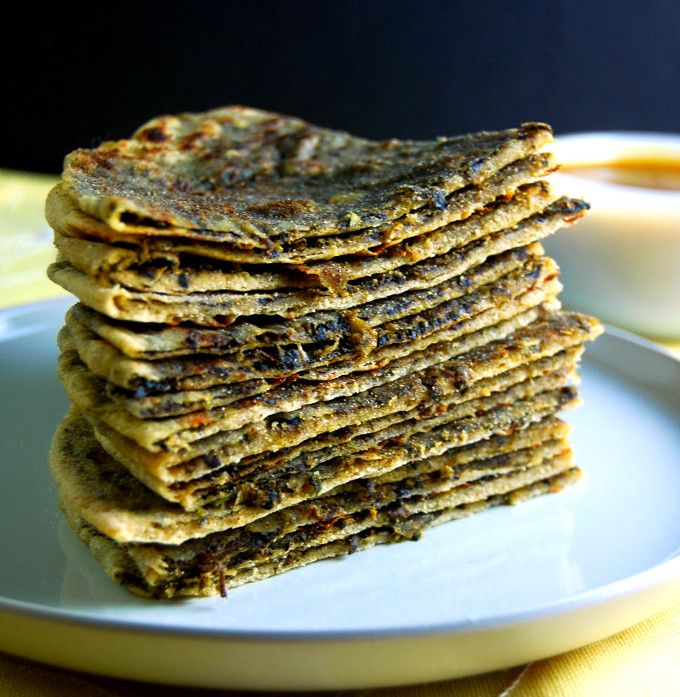 I have a TON of mushrooms in the fridge; I wanna try this! :)                              Mushroom Paratha - Holy Cow! Vegan Recipes