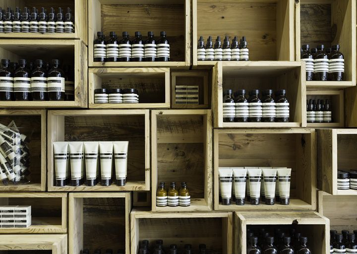 Aesop store by NADAAA, San Francisco store design