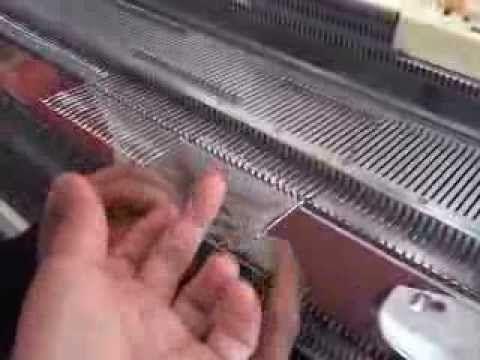 Tejer a maquina leccion 9 - YouTube