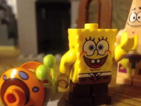 ▶ lego spongebob opposite day - YouTube