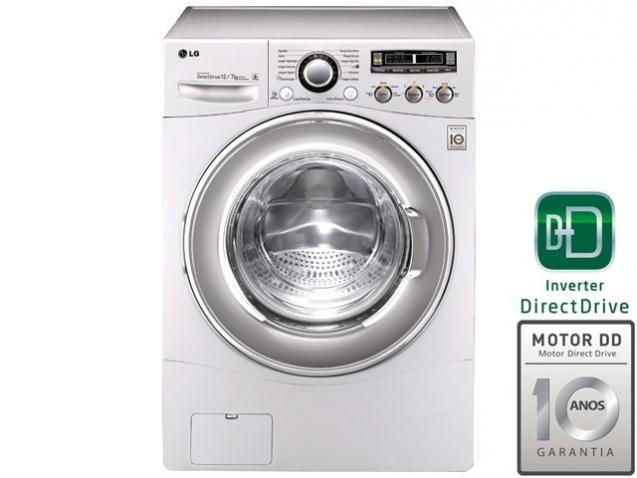 Ideal para quem busca praticidade e economia de tempo. Lava e Seca Samsung Branca Eco Bubble e Diamond Drum 5 Programas de Lavagem 10kg WD106UHSAWQ/AZ. Com capacidade de lavagem para 10 kg de roupa e de secagem para 6 kg, possui filtro auto limpante e controle de fiapos.