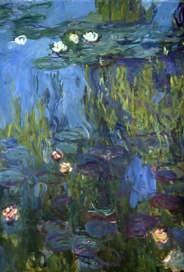 Nympheas, 1914-17 Mural By Claude Monet | Murals Your Way | Monet art,  Claude monet art, Monet paintings