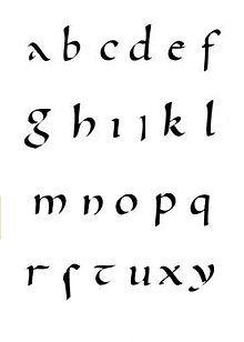 Karolingische minuskel - Wikipedia