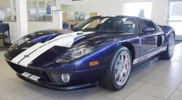 2005 Ford Gt With Less Than 100 Miles For Sale Presented By