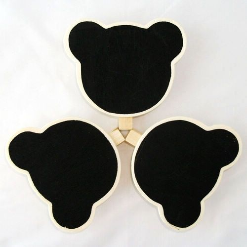 Gorgeous little bear shaped mini chalkboards are perfect for any party and event!  Versatile and stylish these chalkboards can be used as place cards, food labels, dessert tables, lolly bags and more!  #chalkboard #blackboard #diy #craft #desserttable #partystyle #partytheme #happybirthday #partyinspo #eventstyling #eventplanner #kidsparty #partyshop #partydecor #partysupplies #inspiration #littlebooteekau #confettiballoons #christening #engagement #firstbirthday