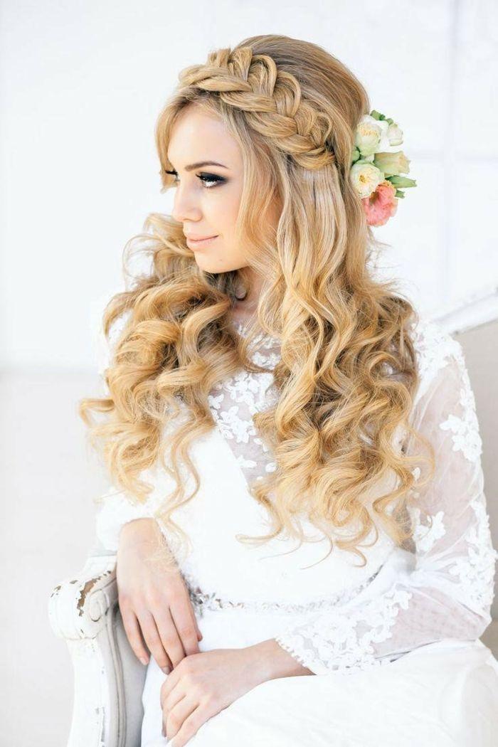 best 25 wedding hairstyles side ideas on pinterest. Black Bedroom Furniture Sets. Home Design Ideas