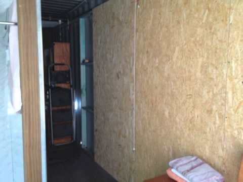 ▶ Shipping Container House - Insulating the walls - YouTube