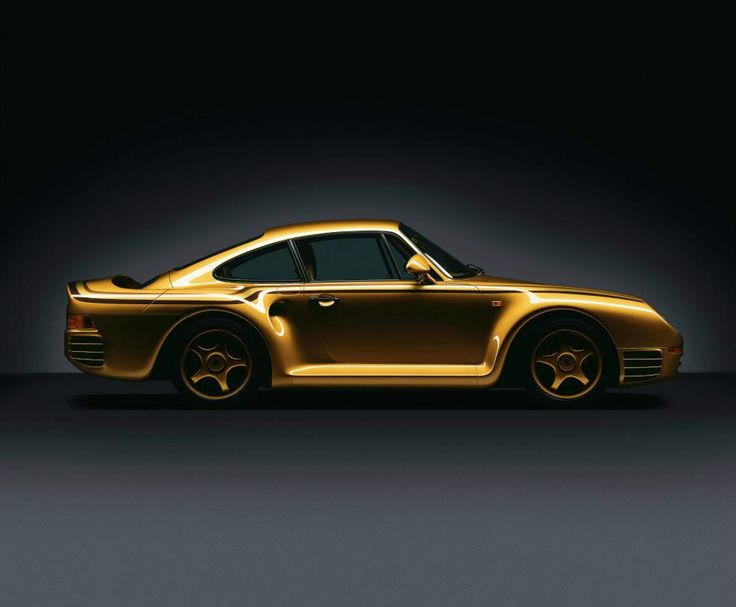This golden Porsche 959 is hard to beat for exclusive character