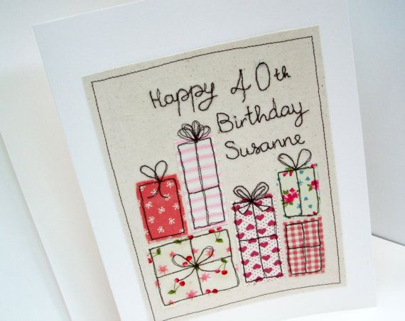 Large Personalised Birthday Card Machine by Nikelcards on Etsy