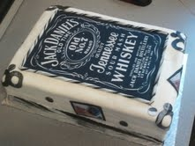 Jack Daniels cake i made for a birthday
