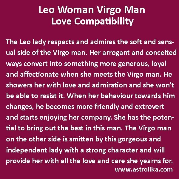 Leo Woman And Virgo Man Love Compatibility In 2020  Virgo -7380