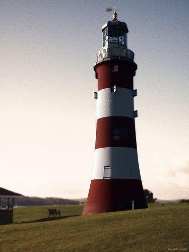 Smeaton's Tower, Eddystone Lighthouse, ~ Plymouth, Devon, England, UK