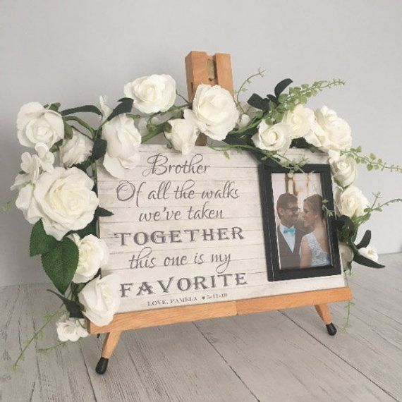 Wedding Gift For Brother From Sister Wedding Gifts For Bride And Groom Brother Wedding Gifts Wedding Gifts For Bride