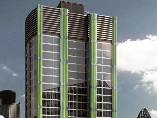 Algae Covered Buildings Boost Biofuel Production Blue