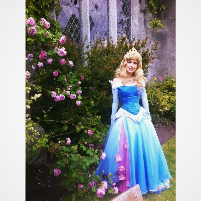 Cosplayer Traci Hines in the most beautiful version of Aurora aka Sleeping Beauty I have ever seen! On Instagram