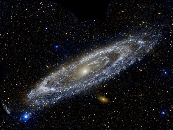 ANDROMEDA, a 2.5 milliones de años luz